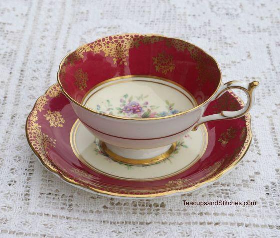 Paragon Rose Teacup