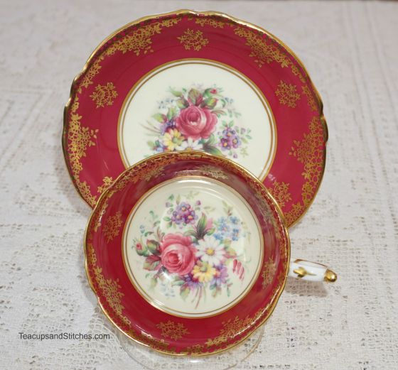 Paragon Rose Tea Cup Saucer