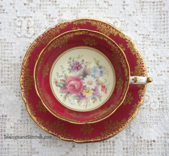 Paragon Rose Teacup Vintage